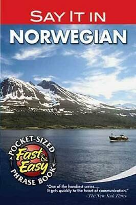 Say It in Norwegian (Dover Language Guides Say It Series) by Dover
