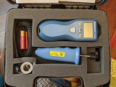 MONARCH Laser Tachometer,0.5 to 20,000 rpm, PLT200 KIT