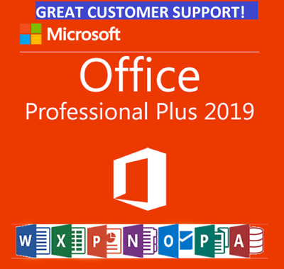 MS Office 365 Professional 2016 - 2019 Pro PC/Mac - 5TB User Lifetime 5 devices