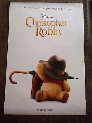 Pooh v1 Christopher Robin Movie Poster Hayley Atwell 24x36 - Ewan McGregor