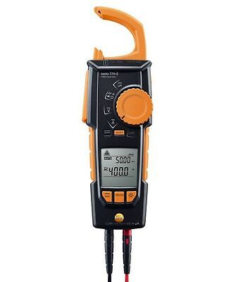 Testo 770-2 Clamp Meter 0590 7702 Auto  AC/DC And Large Two-Line Display