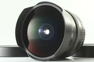 【 MINT 】 Canon Fisheye EF 15mm f/2.8 AF Lens For SLR Camera w/ Caps from JAPAN