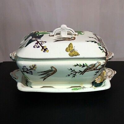 Lorne pattern tureen, by Challinor of Fenton Potteries, circa 1880