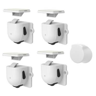 Magnetic Cabinet Locks For Baby Child Proof Safety Door Drawer Kitchen Cupb S2A1