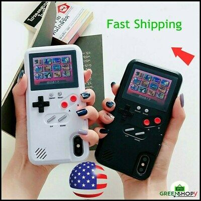 Retro Phone Case 36 Video Games Color Screen Gameboy For iPhone 11 Pro & Note 10