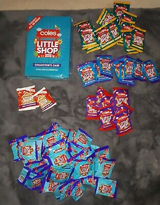 Coles little shop 1 and 2 mini collectables unopened