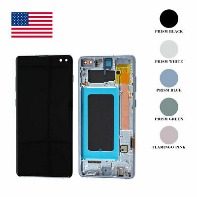 For Samsung Galaxy S10 Plus LCD Touch Screen Display Assembly Replacement OEM US