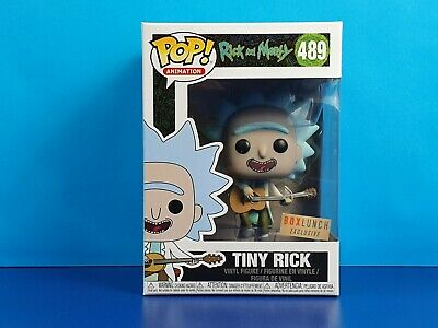 Tiny Rick Funko Pop! Vinyl Figure Rick and Morty Guitar Box Lunch Exclusive
