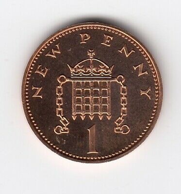 """1974 ONE PENNY 1p in """" Proof """" Condition Extremely Collectable Piece  (1430)"""
