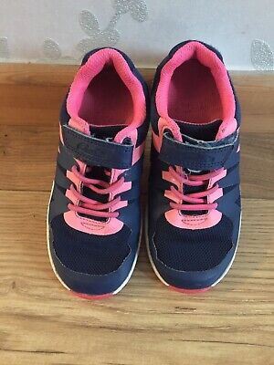 Girls Clarks Trainers 8.5 E (8 1/2 )