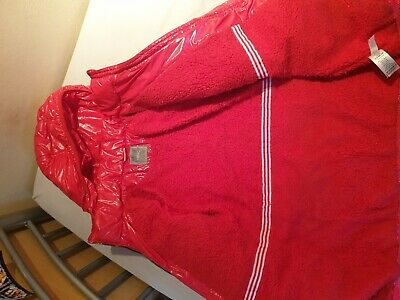 Next Girls Red Padded Puffa Winter Coat Age 12 Years