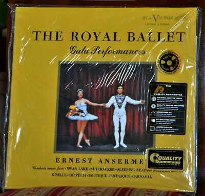 "AUDIOPHILE TAS RCA-ANALOG LDS 6065 ""The Royal Ballet"" ANSERMET 200g #2LPs SEALED"