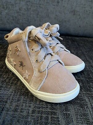 Infant Girls Size 6 Trainer Boots From River Island