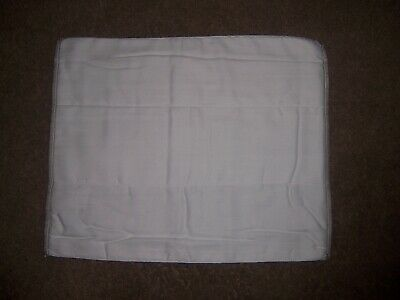 6 OsoCozy Stay Dry Prefolds Cloth Diapers  Toddler Better Fit 15.5x18.5 in.