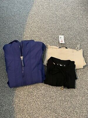 Ladies Next size 6 jacket with hood, light navy blue, hardly worn