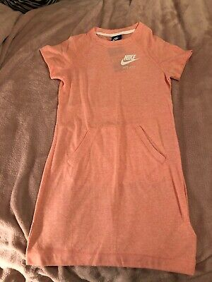 Girls Clothing Nike Peach Sporty Dress Size M 10-12yrs BNWT