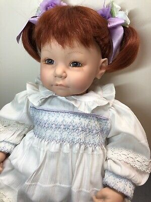 """18"""" Adora Baby Doll Vinyl & Cloth Name Your Own Limited Adorable Redhead W/ Box"""