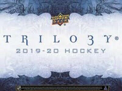 2019-20 trilogy base card U-Pick From List 1-50 pre order