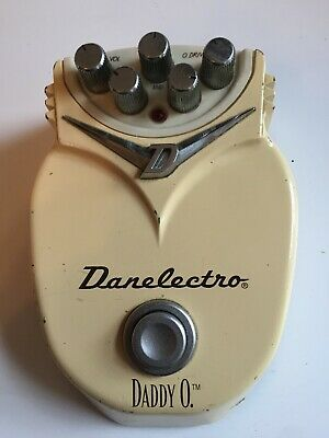 Danelectro Daddy-O Distortion Guitar Effects Pedal