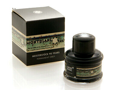 Montblanc Permanent Grey Color Special Edition Ink for Fountain Pens