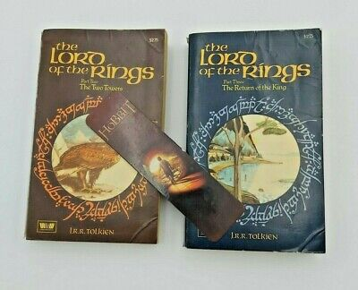 Lord of the Rings - The Two Towers and The Return of the King - 1966 Printing