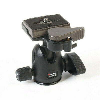 Manfrotto 494RC2 Tripod Ball Head with Quick Release Plate