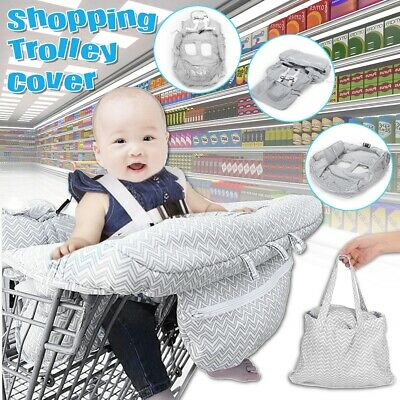 47'' X 32'' Baby Kids Shopping Trolley Cart Cover Seat Infant High Chair Cover