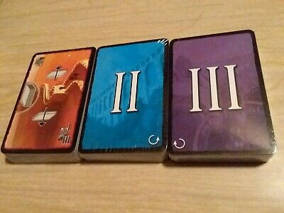 New Sealed Complete Lot Of Replacement 7 Wonders Board Game ALL Age Cards ONLY