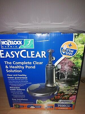 Hozelock Easyclear 7500 LTR complete clear and healthy pond solution