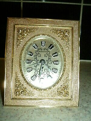 Vintage German BLESSING Alarm Clock West Germany Working