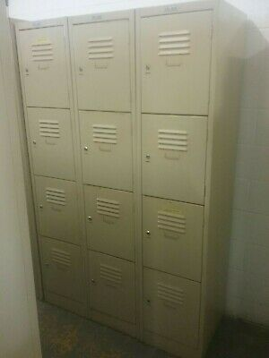 12 Door Personal locker,  lockable and comes with keys