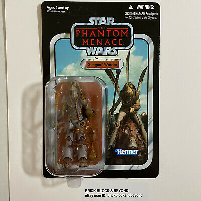 Hasbro Star Wars The Vintage Collection VC74 Gungan Warrior MOC Case Fresh