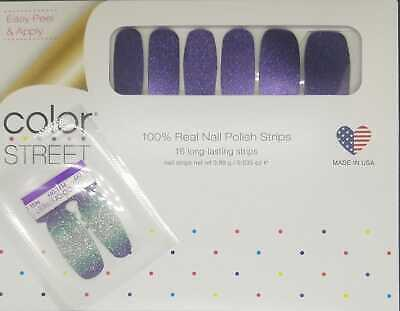 Color Street EXCLUSIVE Cosmic Cloud Dry Nail Polish Strips