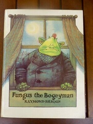 Vintage FUNGUS THE BOGEYMAN by Raymond Briggs 1977 1st Edition Hard back 40pages