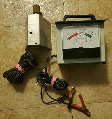 Vintage Car Heathkit Exhaust Gas Analyzer CI 1080