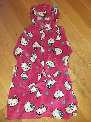 Hello Kitty girls dressing gown 5-6
