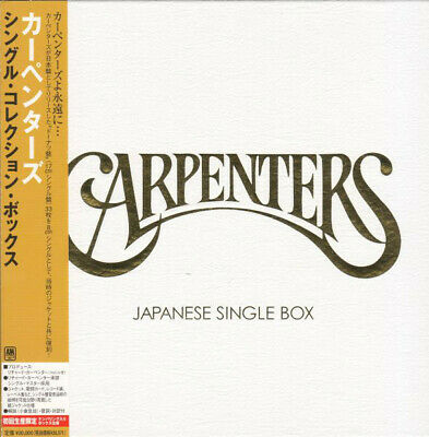CARPENTERS Japanese Single Box JAPAN Box Set UIDY-9034/66 2006 OBI