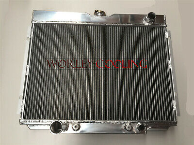 FOR 1967-1970 Ford Mustang 1968-1969 Ford Torino 3 Row All Aluminum Radiator