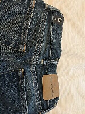 BNWT Abercrombie and fitch Boys Jeans Slim Age10