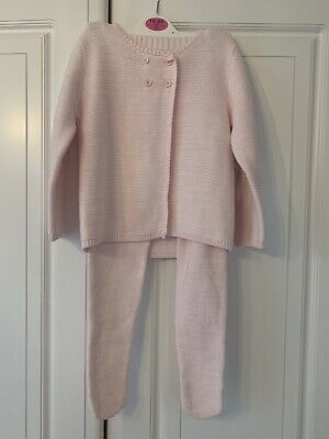Baby Girls Knitted Tracksuit BNWT 12-18months Matalan