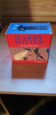Harry Potter And The Goblet Of Fire.audio Book Cd.