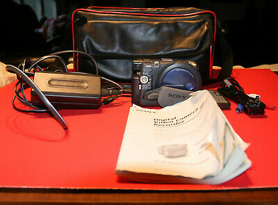 Sony Handycam DCR-DVD101 Camcorder and all accesories + carrying case.