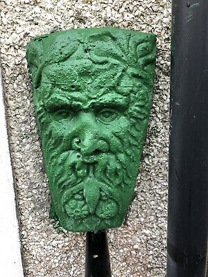 Latex Mould for making This Green Man Wall Plaque