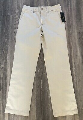 BNWT POLO RALPH LAUREN Boys Stone Chino Trousers Age 14 Years RRP £69