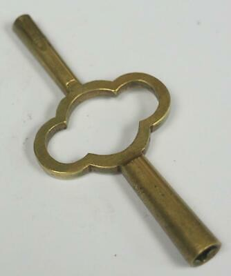 Antique Carriage Clock Key Double Ended Brass Carriage Clock Key French Clock