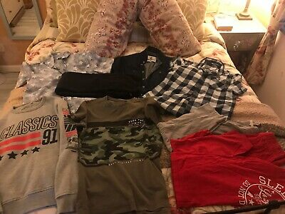 Boys Bundle Clothes Age 11-12 Yrs Next M&S Soul Cal