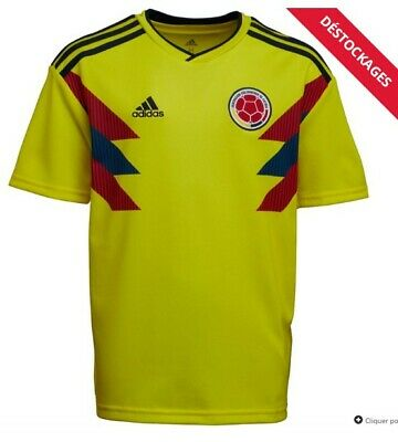 MAILLOT FOOT COLOMBIE adidas away 2018 neuf et authentique
