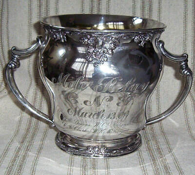 AntiqueTrophy March 13,09 Simpson,Hall&Miller Silver Co. USA #613 Ornate
