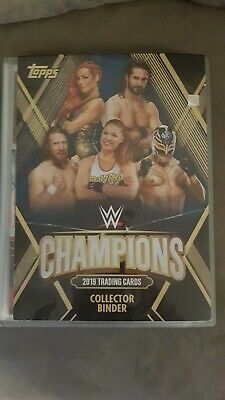 Topps wrestling WWE Champions 2019 base and wrestle mania cards  Pick  10
