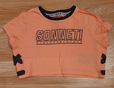 2 Girls Sonneti Belly Tops! Ages 10 - 12 Yrs!